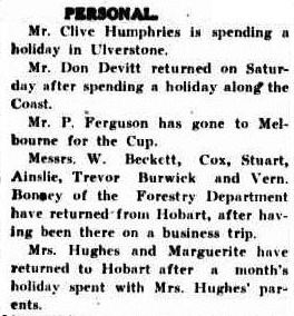 1940 - Circular Head Chronicle