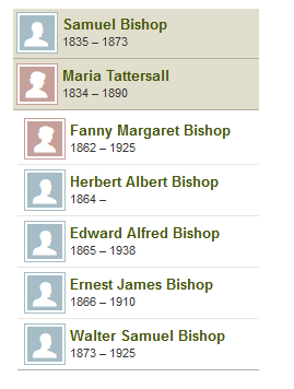 Samuel Bishop and Maria Tattersall
