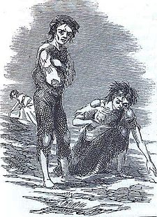 Great Famine (an Gorta Mór) by James Mahony. From The Illustrated London News 1 January 1847. [1]