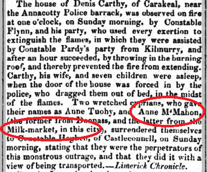 Tipperary Vindicator, 20 June1846